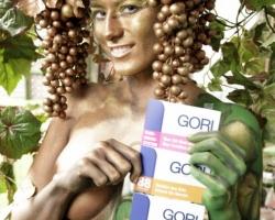 Bodypaintingmodell für die Farbe Messe München_5